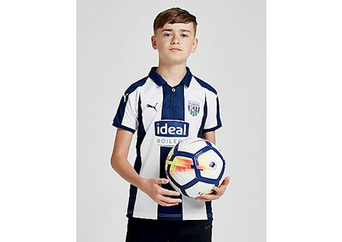 Puma West Bromwich Albion Kids SS Home Shirt 2018/19 Image