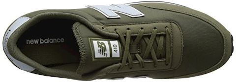 New Balance  U410  women's Shoes (Trainers) in Green Image 7