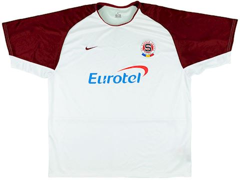 Nike Sparta Prague Mens SS Away Shirt 2003/05 Image