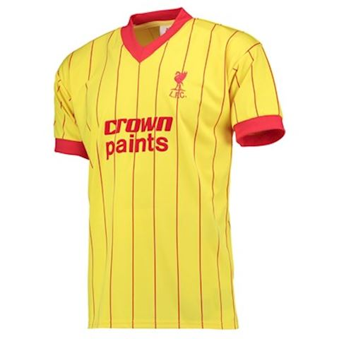 Score Draw Liverpool Mens SS Away Shirt 1982/83 Image