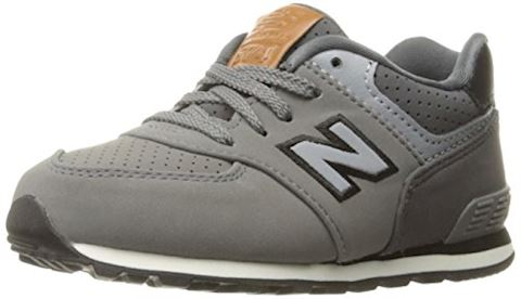 New Balance  KL575  girls's Shoes (Trainers) in Grey Image