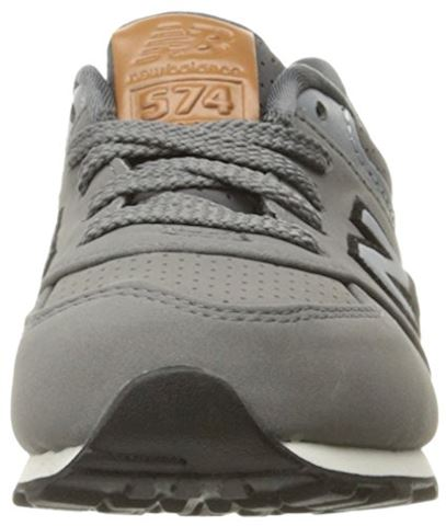 New Balance  KL575  girls's Shoes (Trainers) in Grey Image 4