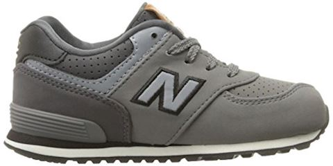 New Balance  KL575  girls's Shoes (Trainers) in Grey Image 7