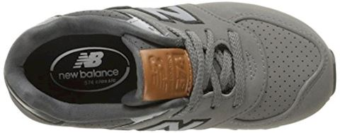 New Balance  KL575  girls's Shoes (Trainers) in Grey Image 8