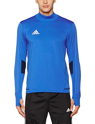 adidas Tiro 17 Training Top Blue Collegiate Navy White Image