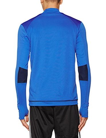 adidas Tiro 17 Training Top Blue Collegiate Navy White Image 2