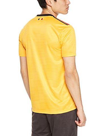 adidas Belgium Mens SS Away Shirt 2018 Image 2