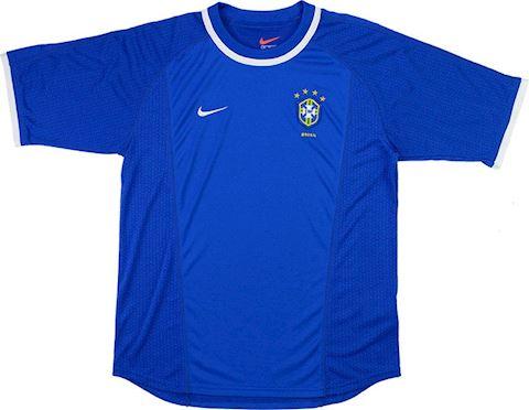 Nike Brazil Kids SS Away Shirt 2000 Image 2