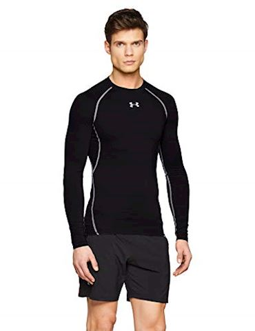 Under Armour Men's UA HeatGear Armour Long Sleeve Compression Shirt Image