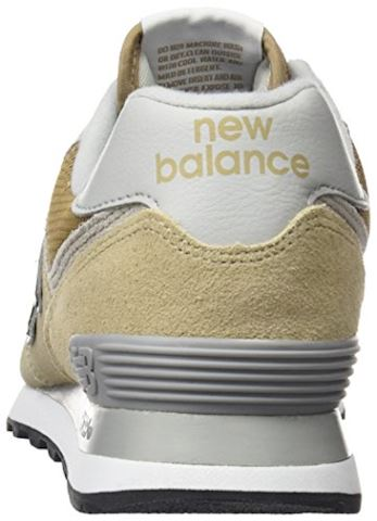 New Balance  ML574  women's Shoes (Trainers) in Beige Image 2