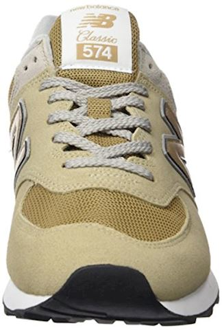 New Balance  ML574  women's Shoes (Trainers) in Beige Image 4