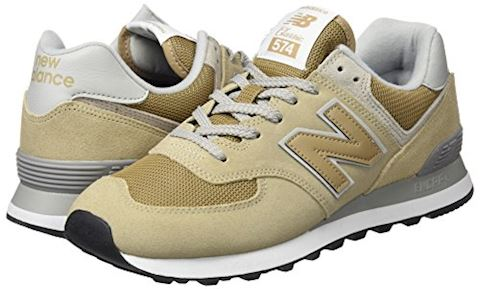 New Balance  ML574  women's Shoes (Trainers) in Beige Image 5