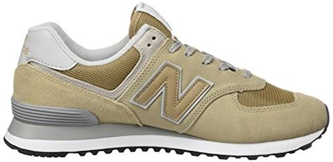 New Balance  ML574  women's Shoes (Trainers) in Beige Image 6