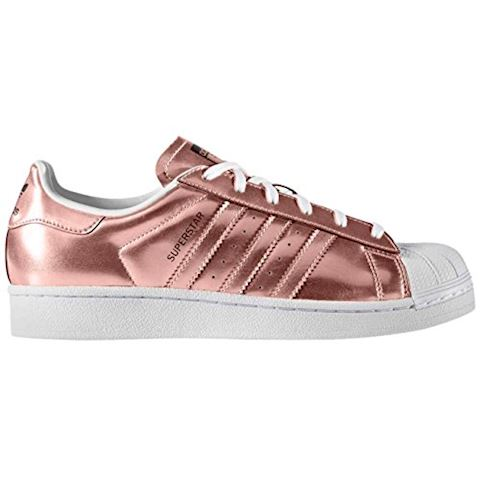adidas  SUPERSTAR  women's Shoes (Trainers) in brown Image 8