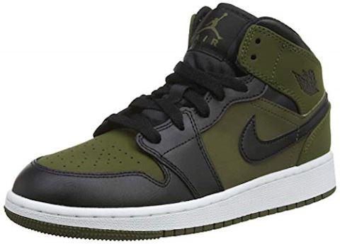 Nike Jordan 1 Mid - Grade School Shoes Image