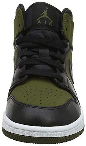 Nike Jordan 1 Mid - Grade School Shoes Image 4