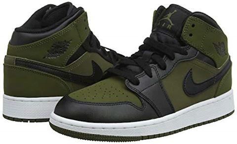 Nike Jordan 1 Mid - Grade School Shoes Image 5
