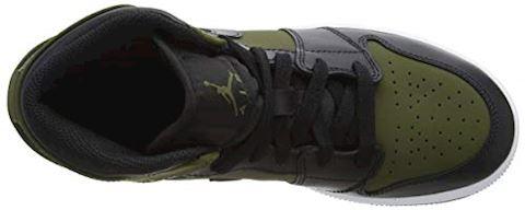 Nike Jordan 1 Mid - Grade School Shoes Image 7