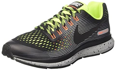 newest e9bfe ff9ce Nike Air Zoom Pegasus 34 Shield Older Kids Running Shoe - Black Image