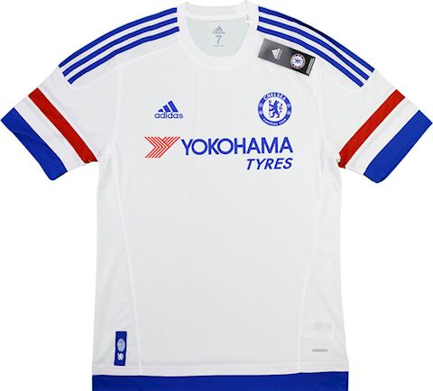 adidas Chelsea Mens SS Player Issue Away Shirt 2015/16 Image 6
