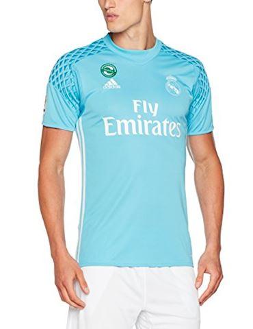 adidas Real Madrid Mens LS Goalkeeper Home Shirt 2016/17