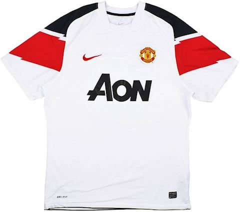 Nike Manchester United Kids SS Away Shirt 2010/12 Image