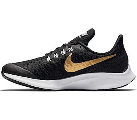Nike Air Zoom Pegasus 35 Shield Younger/Older Kids'Running Shoe - Black Image 6