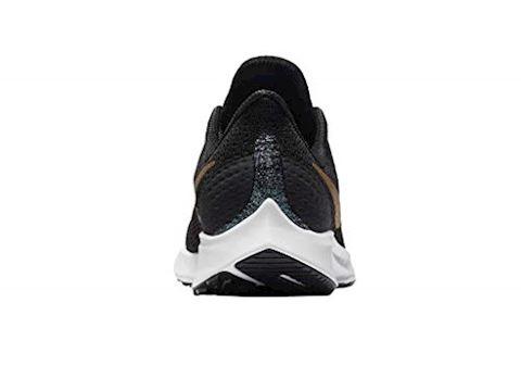 7d8698e7da534 Nike Air Zoom Pegasus 35 Shield Younger Older Kids Running Shoe - Black  Image