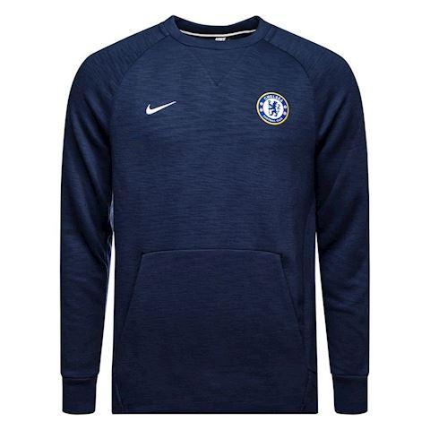 Nike Chelsea Sweatshirt NSW Crew - Midnight Navy/White