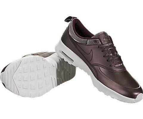 Nike Air Max Thea Premium Women's Shoe - Brown Image 3
