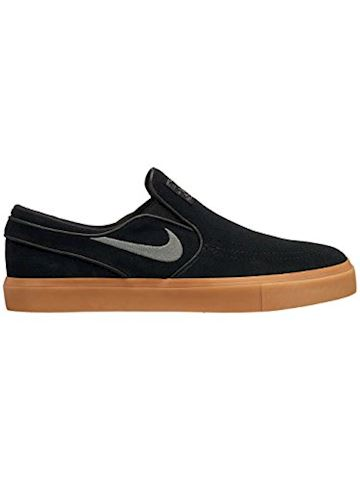 Nike SB Zoom Stefan Janoski Slip-On Men's Skateboarding Shoe - Black Image 13