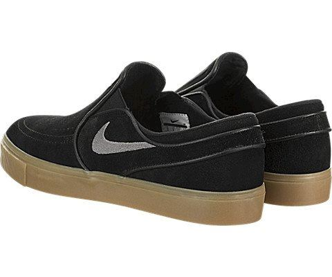 Nike SB Zoom Stefan Janoski Slip-On Men's Skateboarding Shoe - Black Image 4