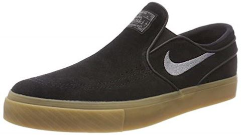 Nike SB Zoom Stefan Janoski Slip-On Men's Skateboarding Shoe - Black Image 6