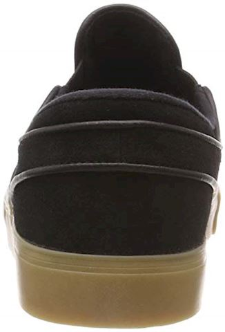Nike SB Zoom Stefan Janoski Slip-On Men's Skateboarding Shoe - Black Image 7