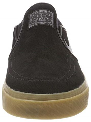 Nike SB Zoom Stefan Janoski Slip-On Men's Skateboarding Shoe - Black Image 9