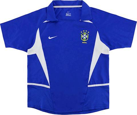 Nike Brazil Kids SS Away Shirt 2002 Image