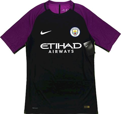Nike Manchester City Mens SS Goalkeeper Player Issue Third Shirt 2016/17 Image