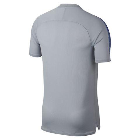 Nike Breathe Chelsea FC Squad Men's Short-Sleeve Football Top - Grey Image 2