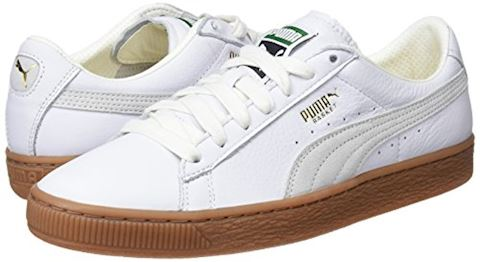 Puma Basket Classic Gum Deluxe Trainers Image 5