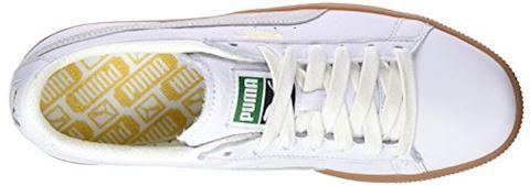 Puma Basket Classic Gum Deluxe Trainers Image 7