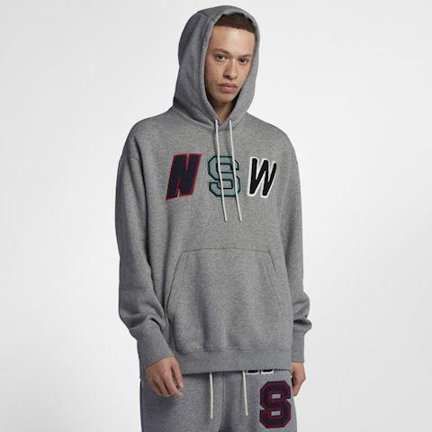 3eb2e00af2 Nike Sportswear NSW Men's Fleece Pullover Hoodie - Grey   943573-091 ...