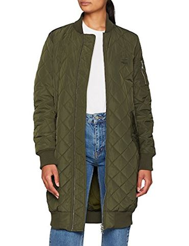 adidas Long Quilted Bomber Jacket Image