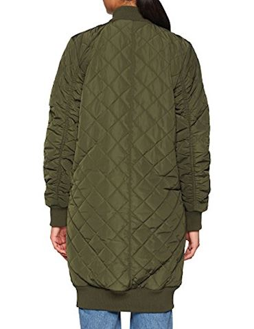 adidas Long Quilted Bomber Jacket Image 2