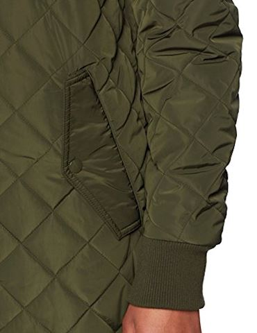 adidas Long Quilted Bomber Jacket Image 4
