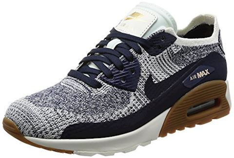 Nike  AIR MAX 90 ULTRA 2.0 FLYKNIT W  women's Shoes (Trainers) in blue Image