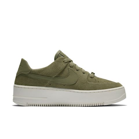 Nike Air Force 1 Sage Low Women's Shoe - Olive Image 3