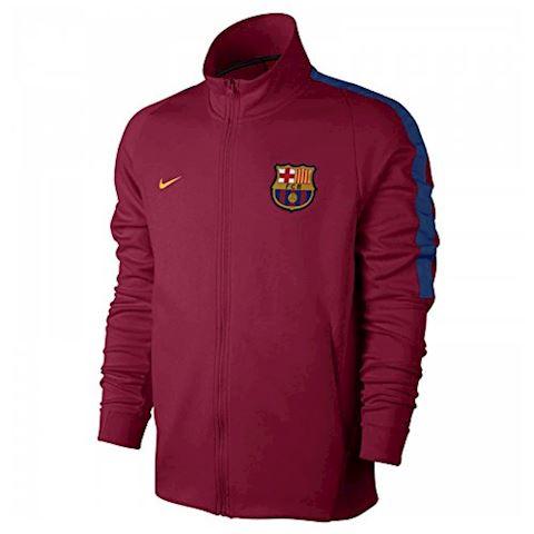 Nike FC Barcelona Franchise Men's Football Jacket - Red Image