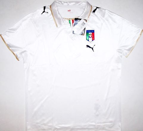 Puma Italy Mens SS Player Issue Away Shirt 2007 Image