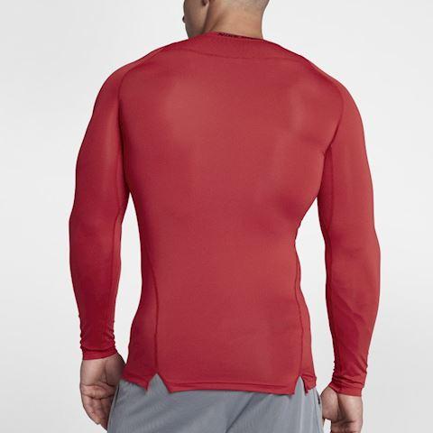 Nike Pro Men's Long-Sleeve Top - Red Image 2