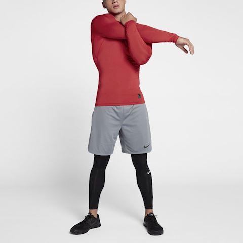 Nike Pro Men's Long-Sleeve Top - Red Image 5
